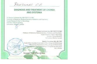 Демченко Елена - сертификат 15