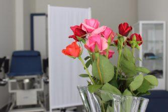 Цветы для гинеколога