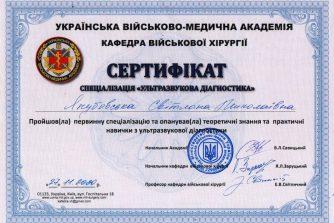 якубовская сертификат