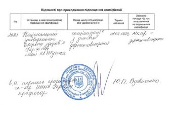 Авраменко сертификат