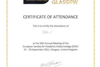 Глоба Евгения Викторовна - сертификат 10