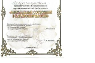 Демченко Елена - сертификат 13