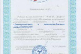 Руденко Елена - сертификат 10