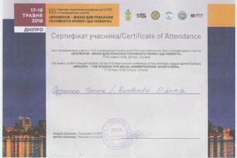руденко сертификат 2