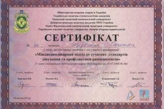 сытник сертификат 2