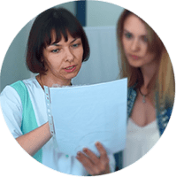 гинеколог и результаты анализов