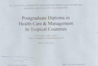 охорона здоров'я та управління охороною здоров'я в тропічних країнах