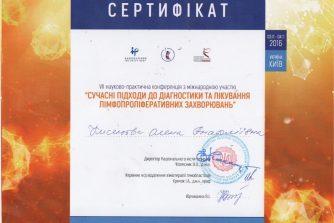 кисельова олена анатоліївна стала учасником науково-практичної конференції з міжнародною участю