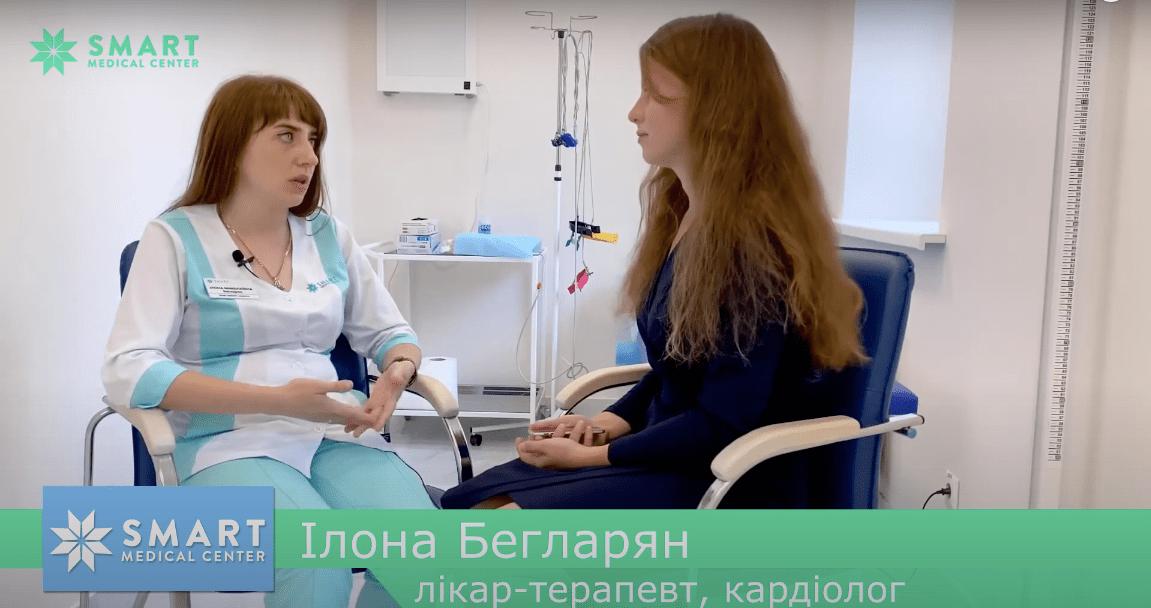 ілона бегларян кардіолог терапевт