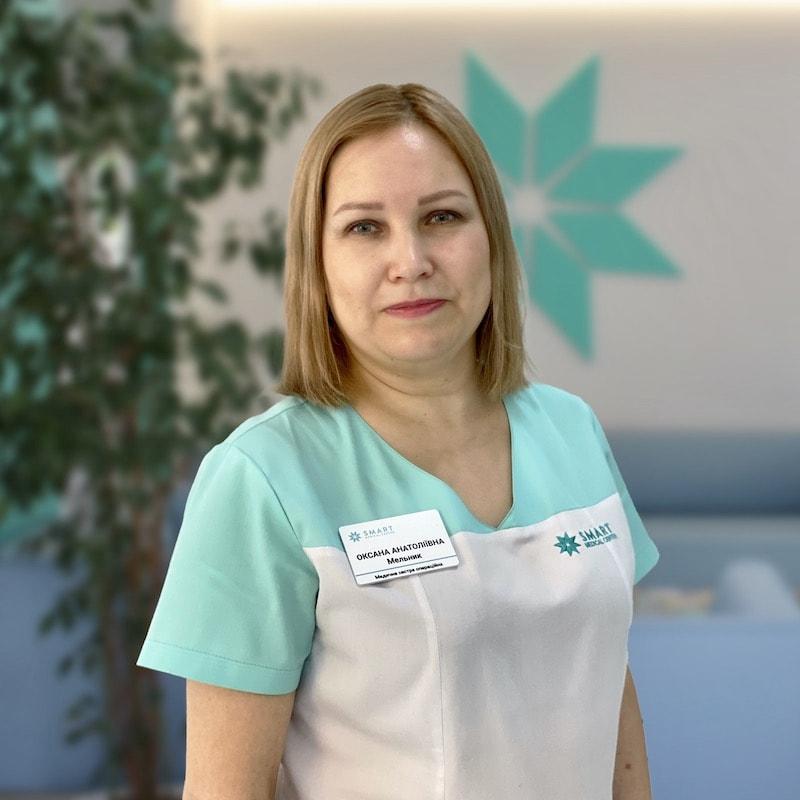 Мельник Оксана Анатоліївна