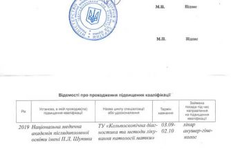 сертифікат Деньгуб