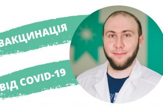 Вакцинація проти коронавірусної інфекції COVID-19