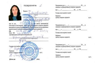 Гаркавенко Юля сертифікат